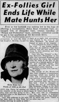 Helen Cressman Suicide