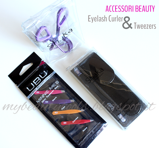 Accessori Beauty: Eyelash Curler & Tweezers