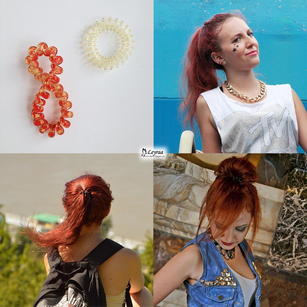 Porównanie gumek do włosów - gumki z frotki, podróbka Invisibobble, jedwabna, recepturki do warkoczyków