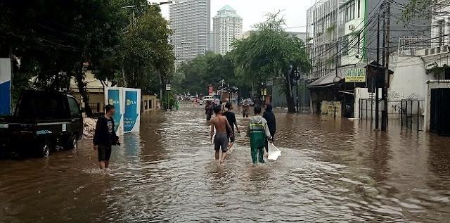 Hanya Tersisa Satu Titik Banjir Di Jakarta Yang Belum Surut