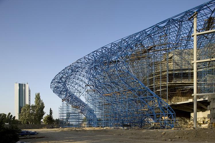Structure Design Of Heydar Aliyev Center Zaha Hadid