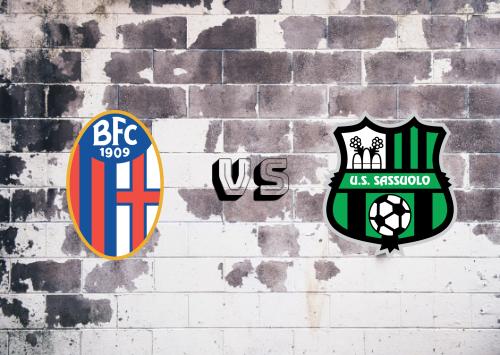 Bologna vs Sassuolo  Resumen