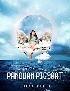 Cara Edit Pakai Picsart Manipulasi Foto Peri Bulan