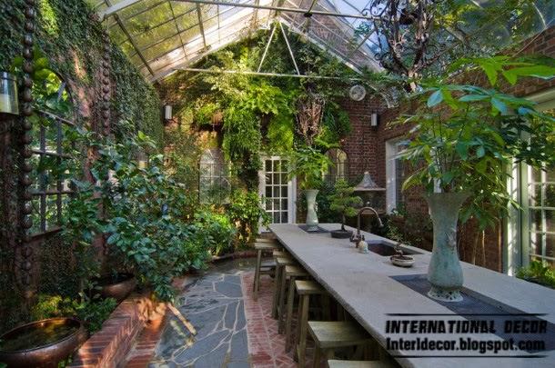 Decorate Winter Garden Design Ideas