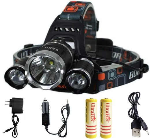 waterproof headLamp flashlight