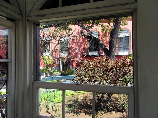 a garden in Casa Museu Frederico de Freitas