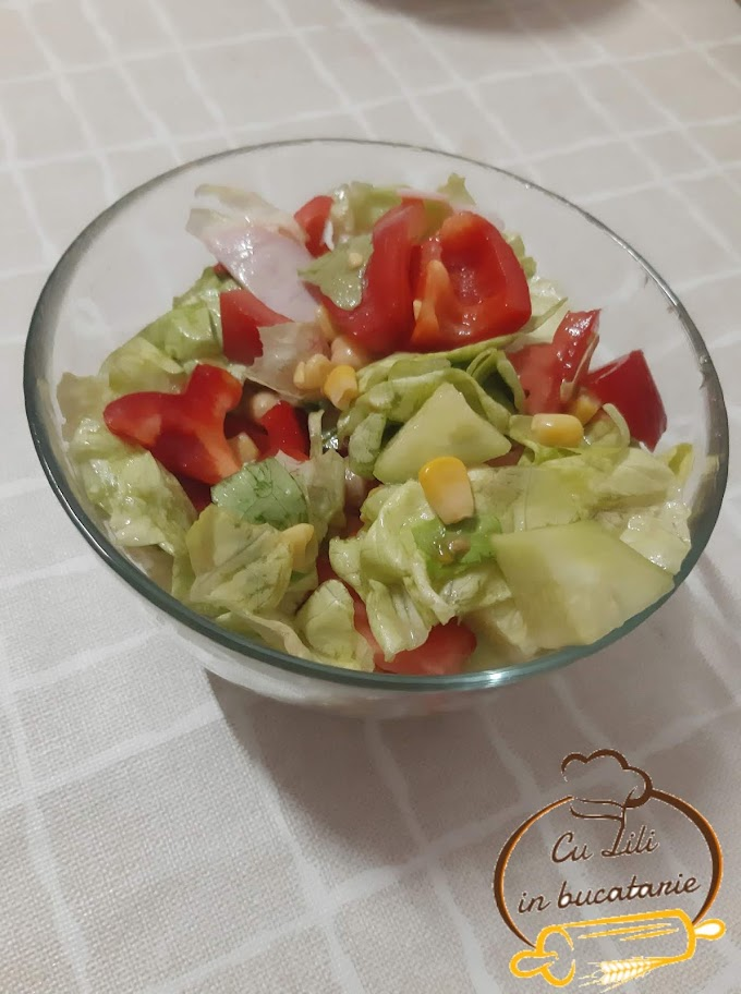 Salata de cruditati cu naut