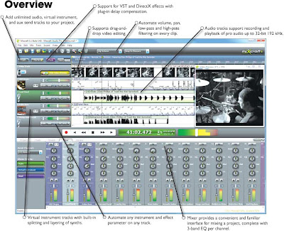 Acoustica Mixcraft v5 2 build 151 With Patch | Free