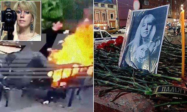 VIDEO: Ruska opoziciona novinarka se samozapalila i preminula nakon što joj je policija pretresla stan