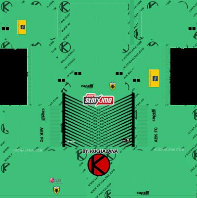 AEK F.C. Kits 2020/21 -  DLS2019 Kits