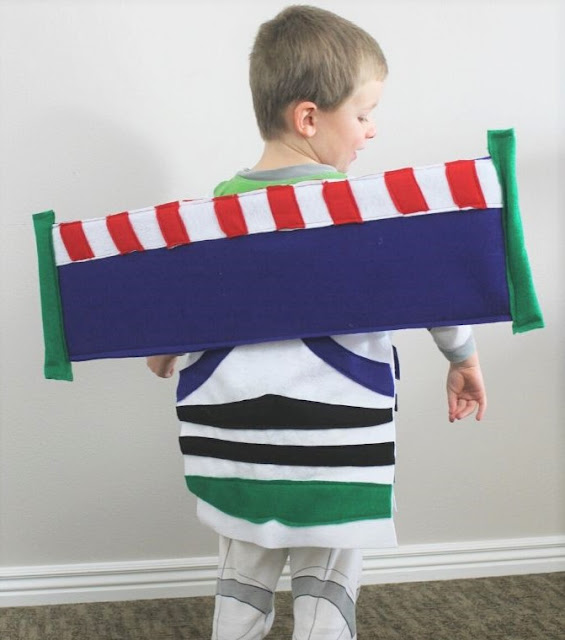buzz lightyear costume diy wings