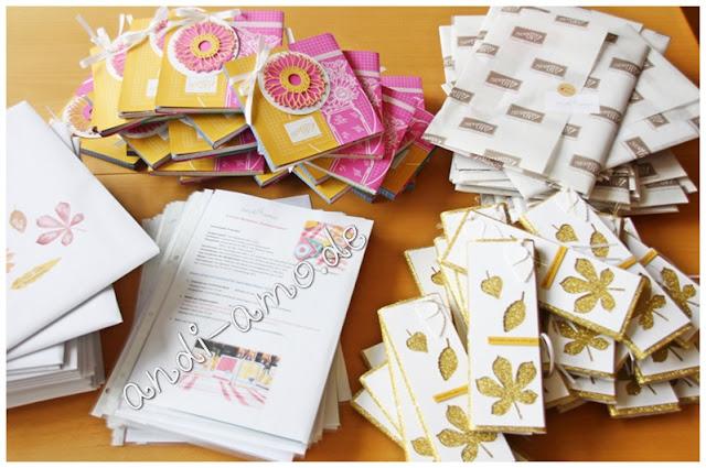 andi-amo Teamtreffen 2020 Geschenke und Materialpakete