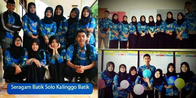 Seragam Batik Solo kalinggo Batik Seragam Batik Printing Universitas Muhammadiyah Surakarta Fakultas Geografi