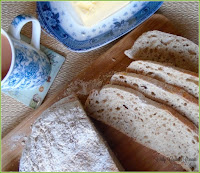 No Knead Bread with Wholemeal Flour