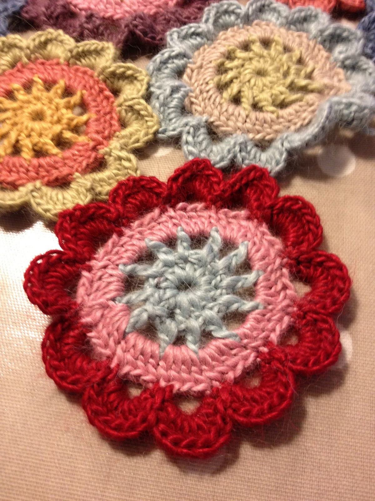 My Crafty Little Moments Japanese Flowers And A Tutorial Rose Flower Diagram Crochet