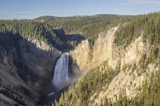 Lower Falls on the Yellowstone River