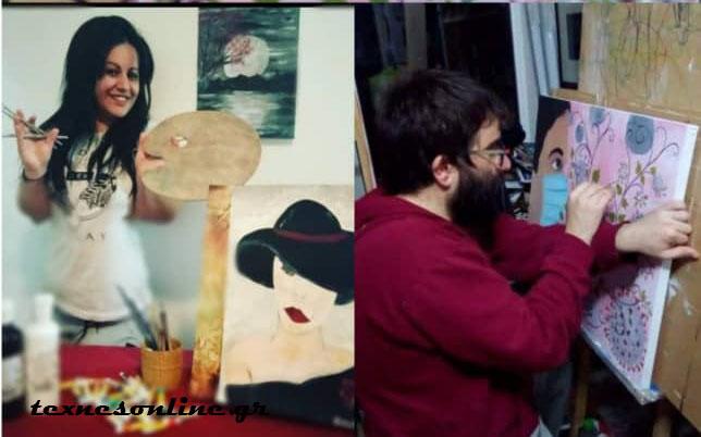 """Θανάσης Μακρής - Βάσω Κανιώτη: """"Η ζωγραφική είναι μέρος της ζωής μας"""""""