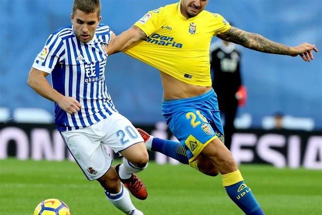 Real Sociedad 2×2 Las Palmas: Mais uma derrapada para a conta