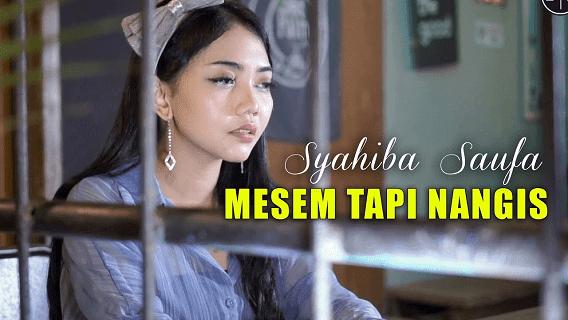 Lirik Lagu Mesem Tapi Nangis - Syahiba Saufa
