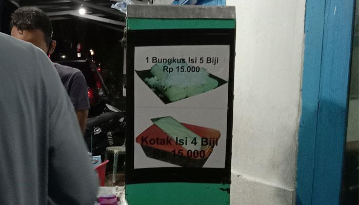 Harga Makanan Kue Puthu Madiun