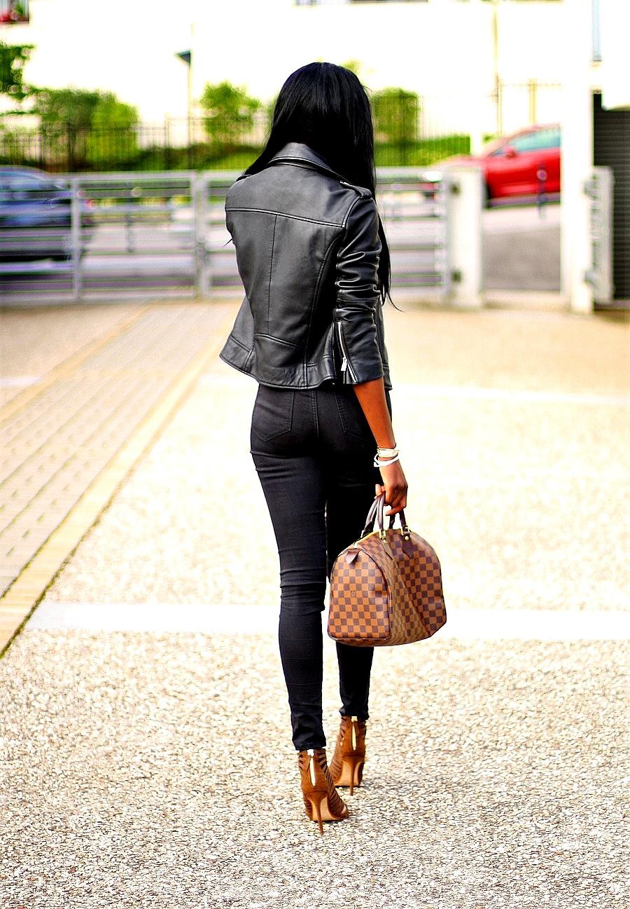 sac-speedy-louis-vuitton-perfecto-cuir-zara-total-look-black