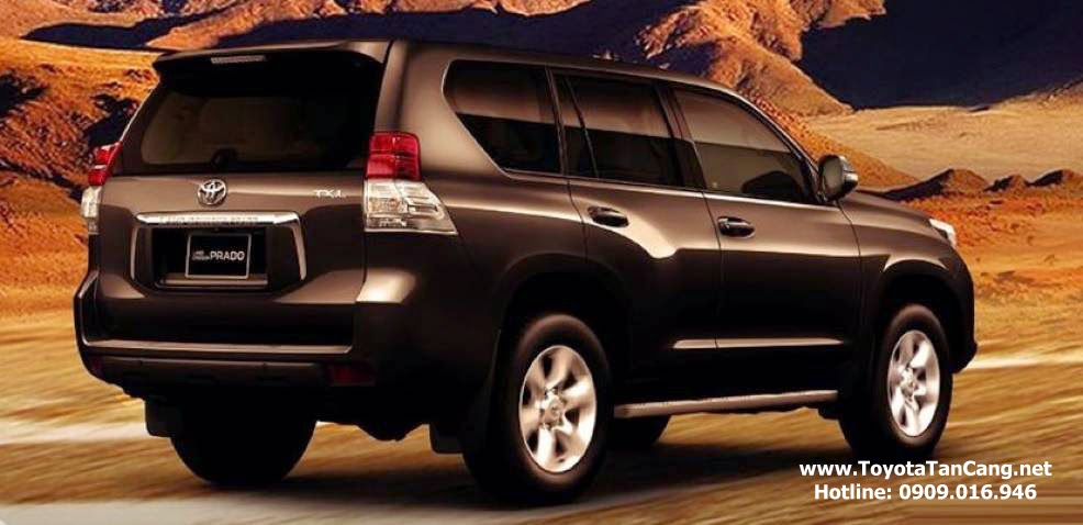 toyota land cruiser prado 2015 toyota tan cang 3 - Toyota Land Cruiser Prado 2015 giá bao nhiêu? Xe nhập khẩu từ Nhật Bản - Muaxegiatot.vn