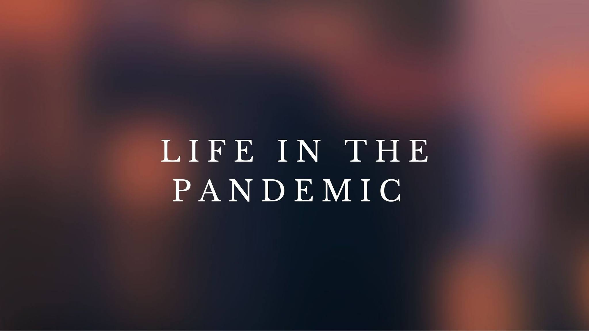Life in the pandemic