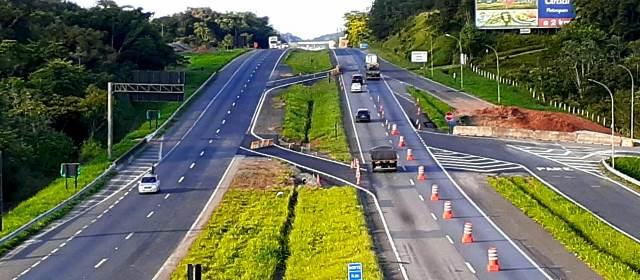 Confira as alterações no tráfego na BR-116 em Pariquera-Açu