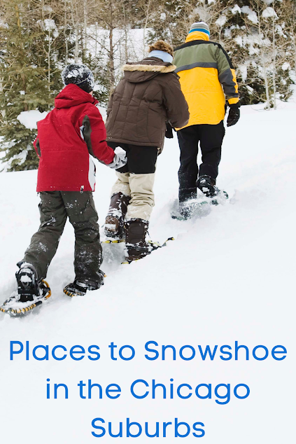 Places to Snowshoe in the Chicago Suburbs