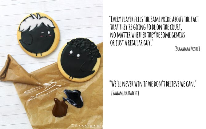 Haikyuu Cookies