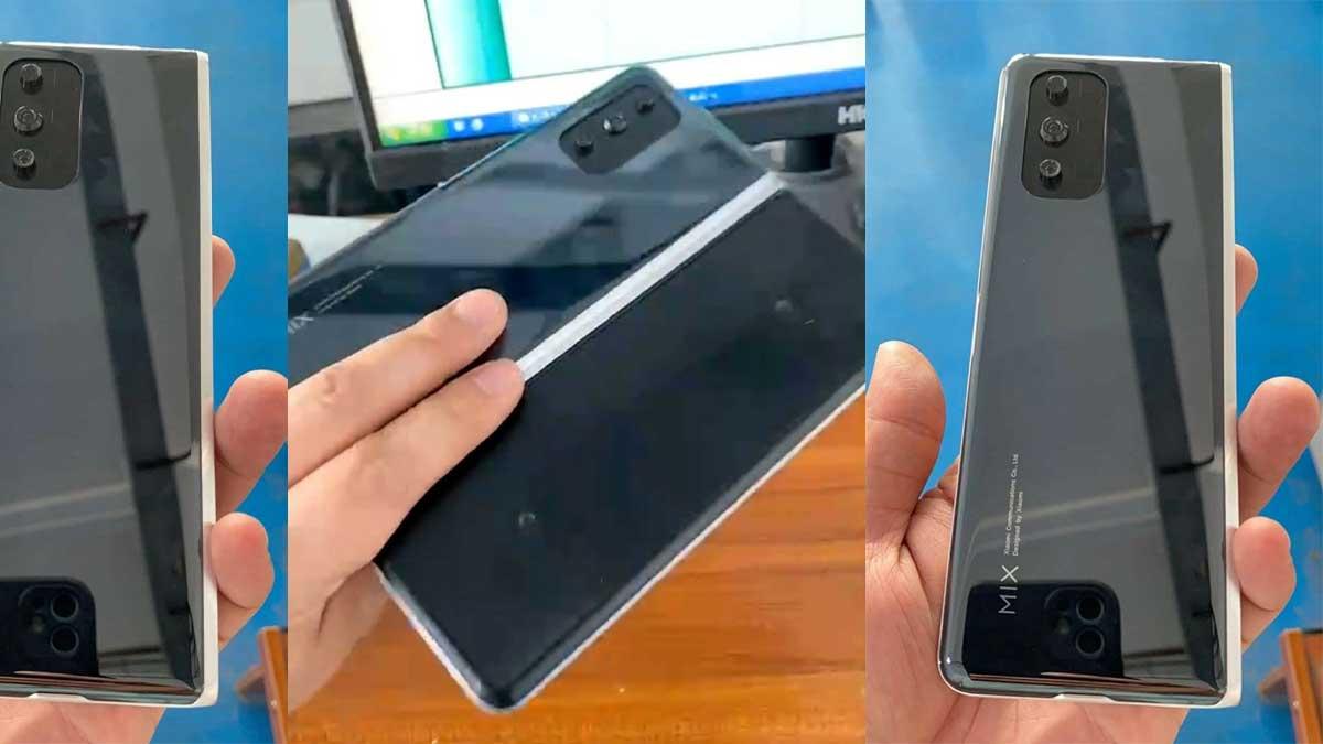 Xiaomi Mi Mix القابل للطي