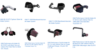 """air intake kit"",""purchase air intake kit from K&N"",""buying K&N air intake kit"""
