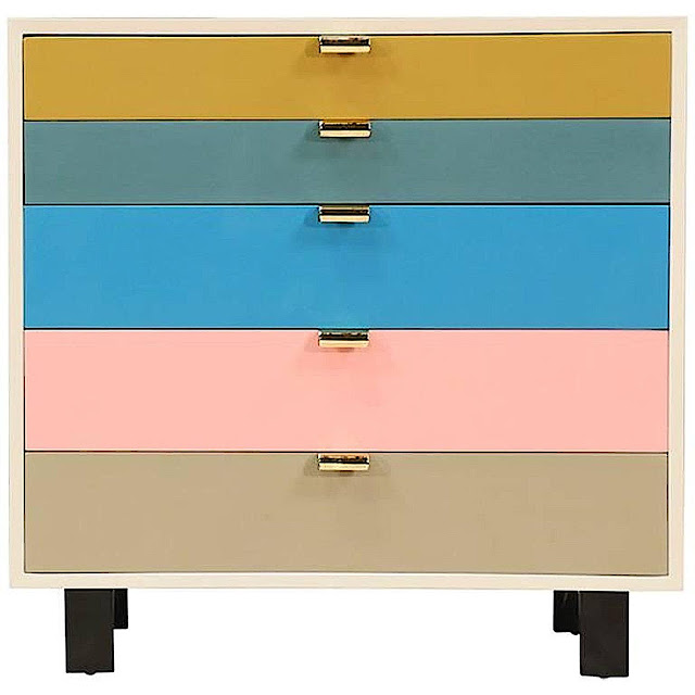 a George Nelson cabinet