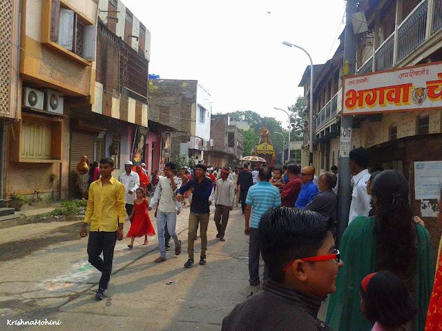 Image: Balaji Rath arriving
