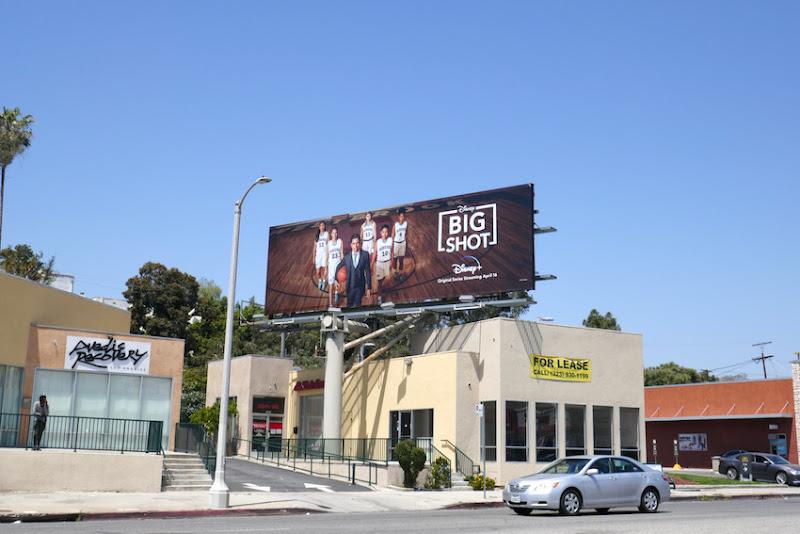 Disney Big Shot series billboard