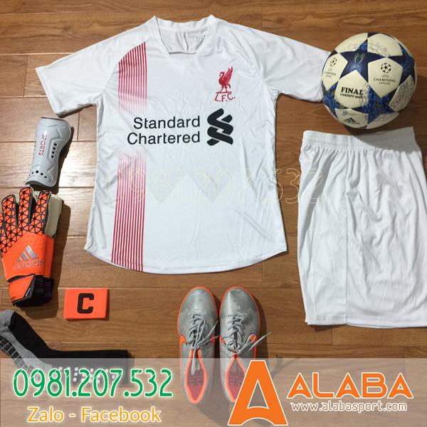 Áo CLB Liverpool 2019 màu trắng xịn