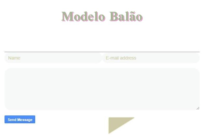 exemplo do formulário personalizado