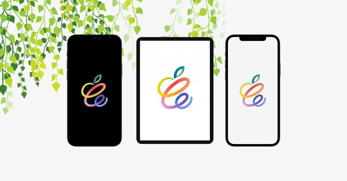 Download Apple Spring Logo to Desktop pc, iPhone & ipad