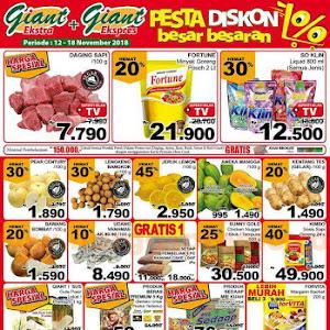 Katalog Promo GIANT Awal Pekan Weekday 12 - 18 November 2018