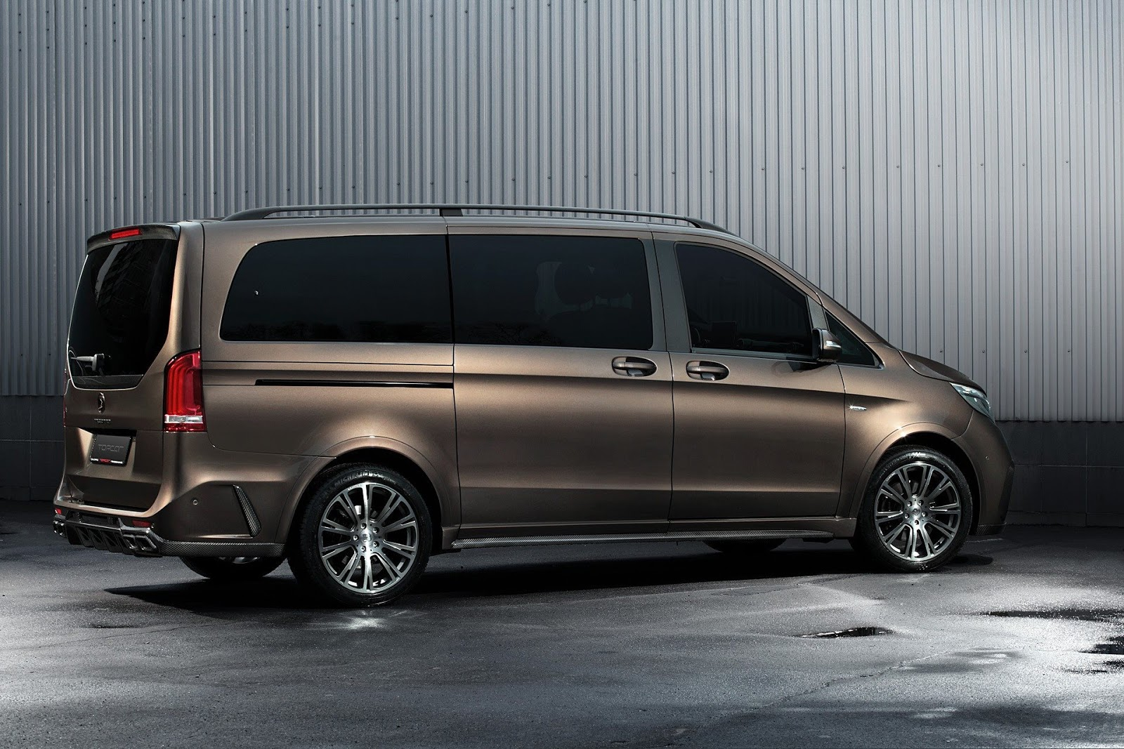 Topcar transforms mercedes v class into something fit for for Mercedes benz of kc