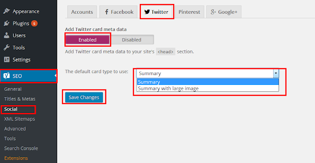 how to add twitter card to wordpress