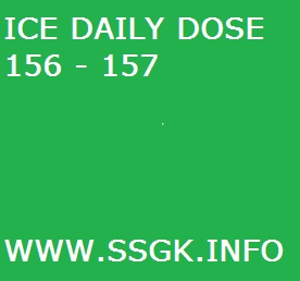 ICE DAILY DOSE 156 - 157