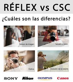 Diferencias Reflex vs CSC