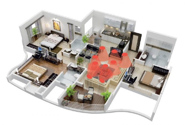 house plans 3 modern minimalist rooms