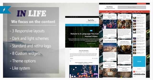InLife - Simple & Flexible Blog/Magazine Wordpress Theme
