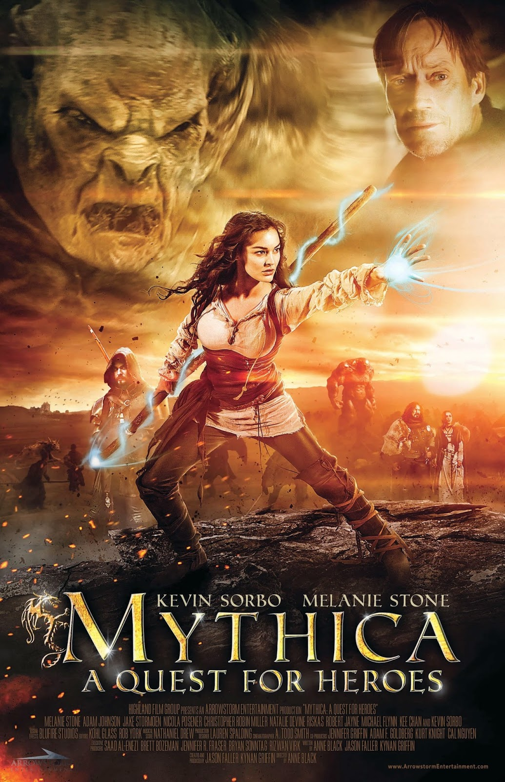 Mythica: A Quest for Heroes 2015 - Full (HD)