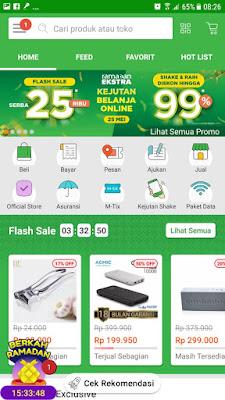 Promo Flash Sale dan Berkah Ramadan dari TOKOPEDIA