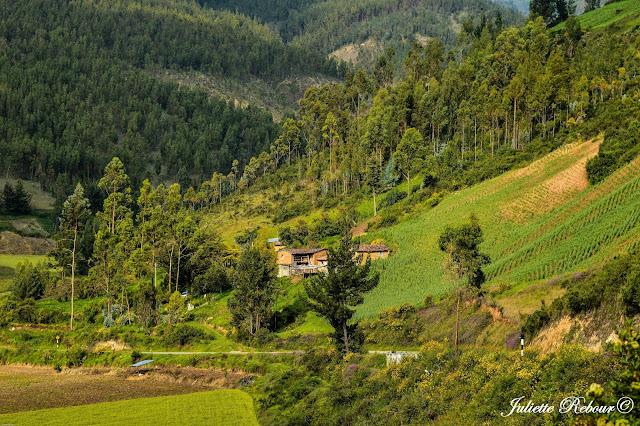 Village au Pérou