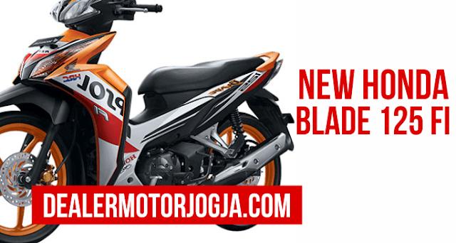 Spesifikasi Lengkap dan Harga Terbaru Honda Blade 125 FI 2016 Jogja
