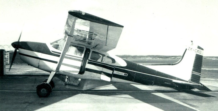 NZ Civil Aircraft: Cessna 185 ZK-CKO